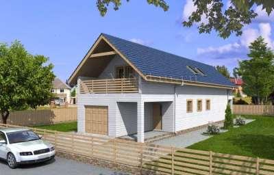 Как выбрать проект дома для узкого участка