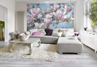 Фотообои в гостиную для создания особенного стиля