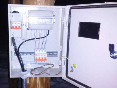 Комплекс работ по организации подключения электричества за городом