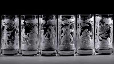Услуга гравировки стекла по уникальной технологии от мастеров своего дела