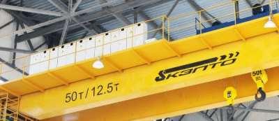 Монтаж и запуск в работу мостовых опорных кранов