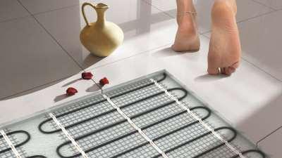 Теплый пол под плитку своими руками: пошаговая инструкция