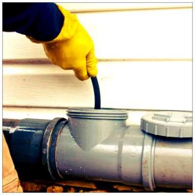 Чистка канализационных труб: как сделать это самостоятельно?