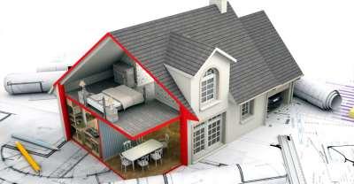 Этапы строительных работ при возведении частного дома