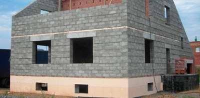 Строительство домов из керамзитобетонных блоков: плюсы и минусы