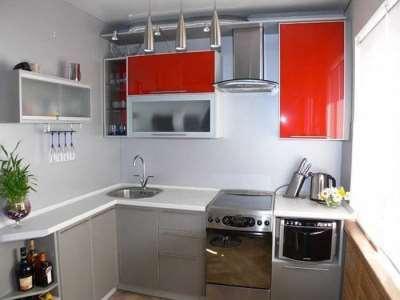 Как организовать пространство маленькой кухни?