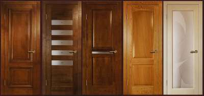Выбрать двери из массива дерева: отличие дуба от других материалов
