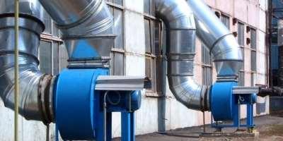 Виды промышленной вентиляции