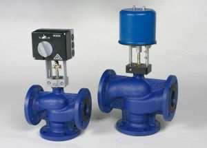 Регулирующие клапаны для промышленных трубопроводов