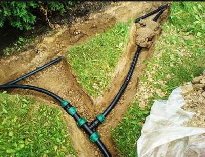 Бережное отношение к почве при укладке труб