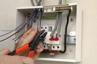 Замена проводки и осветительных приборов