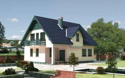 Как построить недорогой загородный дом?