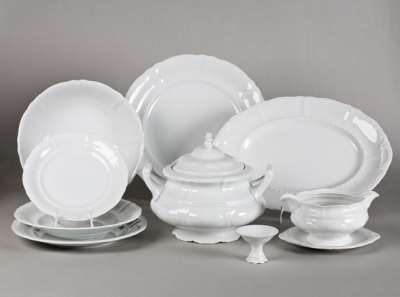Распространенные разновидности фарфоровой посуды