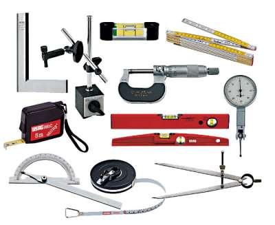 Виды и особенности измерительного строительного инструмента