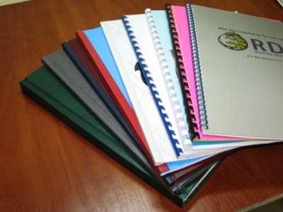 Виды переплетов для документов