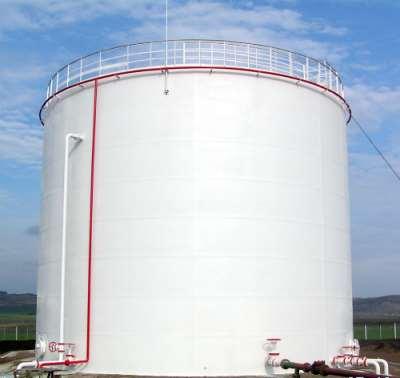 Резервуар РВС 2 000 его технические параметры и область применения