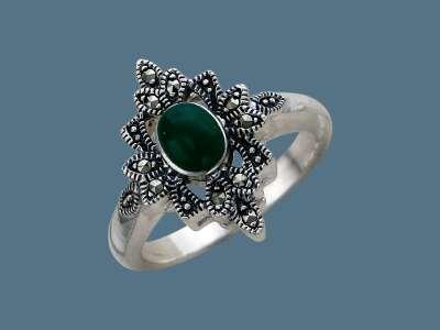 Кольца с марказитом для идеального образа