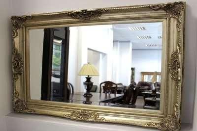 Использование зеркал в багете