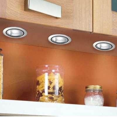 Мебельные встраиваемые светильники – возможность преображения интерьера