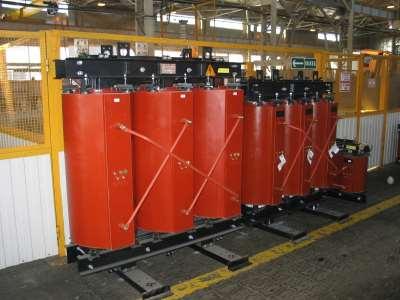 Промышленные сухие трансформаторы