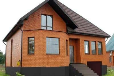 Преимущества строительства дома под ключ из кирпича