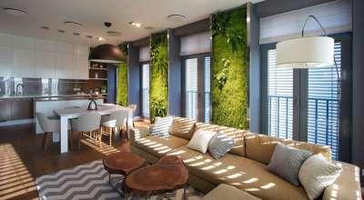 Как облагородить жилую зону при помощи дизайна интерьера