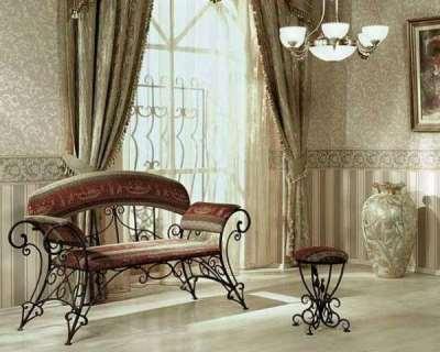 Значение кованой мебели в интерьере
