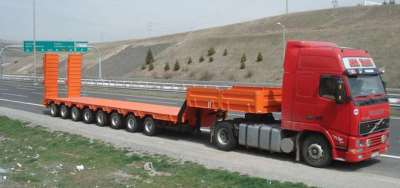 Преимущества перевозки негабаритных грузов с применением трала