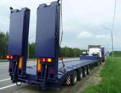 Особенности транспортировки негабаритных грузов тралами