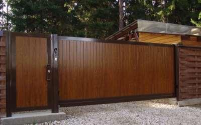 Почему автоматические откатные ворота пользуются большой популярностью