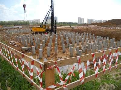 Основные преимущества использования бетонных свай