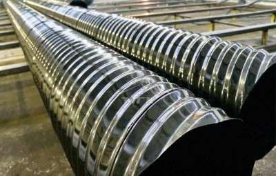 Сферы применения металлических гофрированных труб