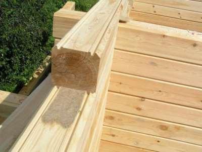 Деревянный брус для строительства дома