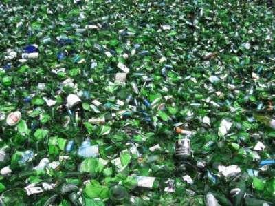 Как происходит переработка и утилизация стекла?