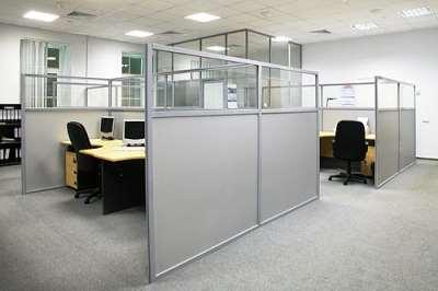 Перегородки для офисов: особенности, возможности, отличия