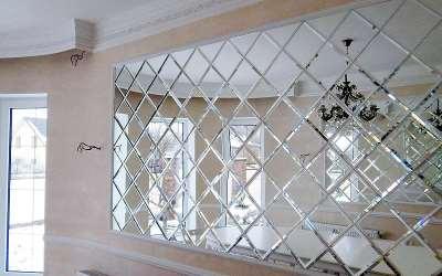 Особенности изготовления зеркальной плитки