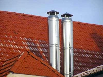 Почему дымоходные трубы из нержавейки лучше кирпичных дымоходов