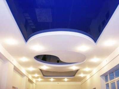 Положительные характеристик натяжных потолков