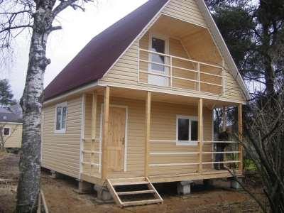 Каркасные дома под ключ – высокое качество и быстрота возведения