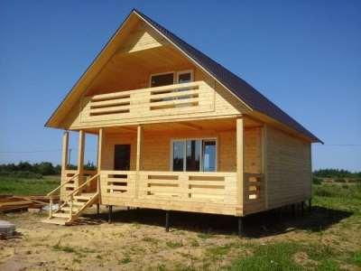 СКС Строй – проектирование и строительство домов из дерева под ключ