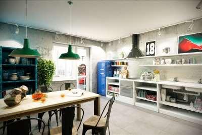 Кухни в стиле лофт: урбанизм в дизайне