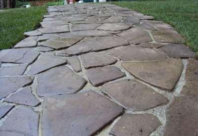 «Каменная Крепость» — долговечный плитняк для мощения дорожек