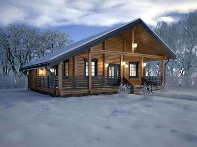 Как строить дома в зимнее время