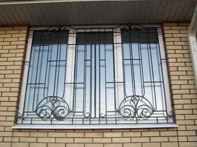 Решетки на окнах – надежная защита вашего имущества