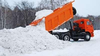 Вывоз снега и льда с утилизацией