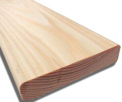 Планкен прямой из лиственницы – долговечный и прочный отделочный материал