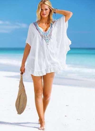 Пляжные туники в интернет-магазине купить недорого