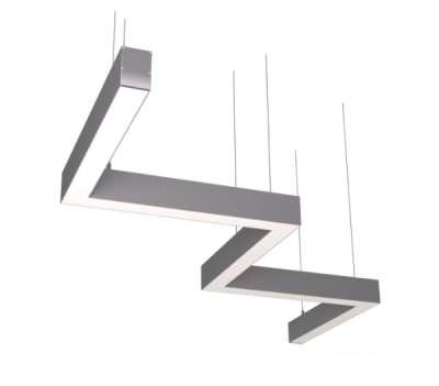 Зигзагообразные светильники — уникальный дизайн и надежность