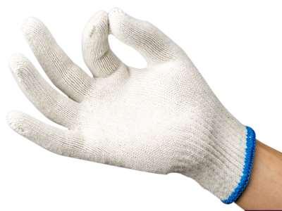 Перчатки хлопчатобумажные рабочие оптом