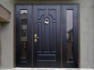 Защищенные входные стальные двери от «GERDA»